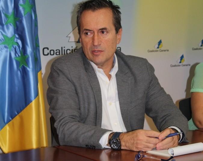 """José Miguel Ruano: """"Coalición Canaria no está preocupada por el Sistema Electoral"""""""
