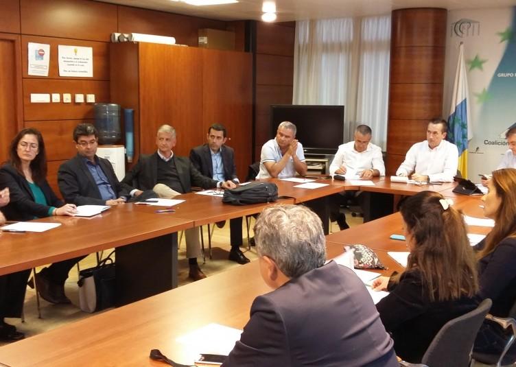 reunión alcaldes tenerife