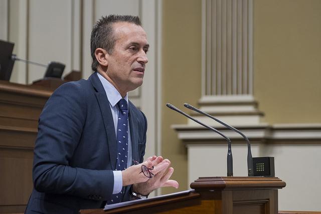 José Miguel Ruano Portavoz del Grupo Nacionalista Canario : Estatuto