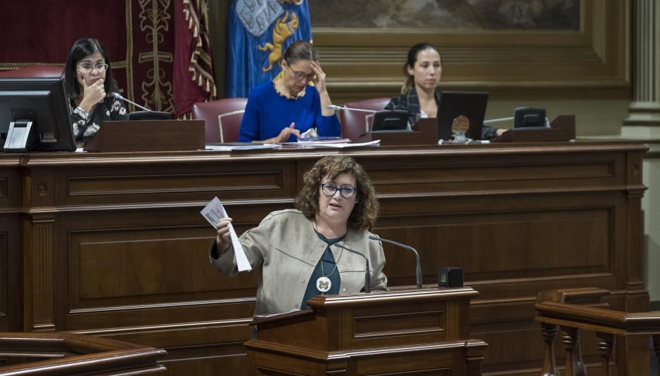 """González Taño: """"855 estudiantes de La Palma se beneficiaron en 2017 de las ayudas al desplazamiento por razón de sus estudios"""""""