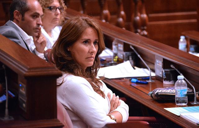 """Lola García: """"El Gobierno apuesta por la Educación Pública y aumenta su  presupuesto en 42,3 millones de euros"""" - Grupo Nacionalista Canario"""